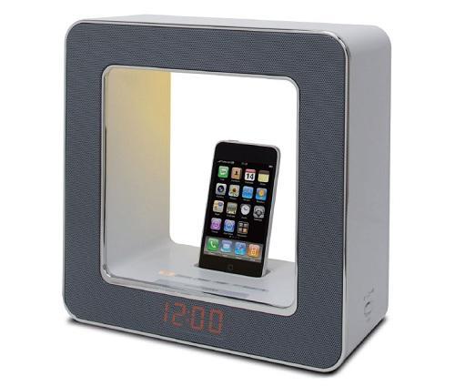 iPhone ve iPod için şık tasarımlı dock ünitesi: TEAC SR-LUXi