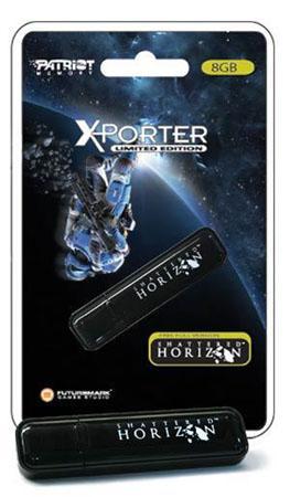 Patriot'tan Shattered Horizon hediyeli USB bellek