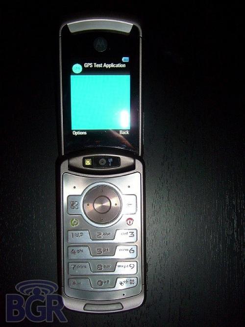 Motorola RAZR3'ün ilk görüntüleri ortaya çıkt