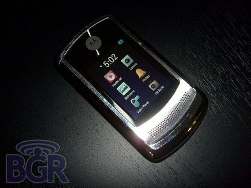 Motorola RAZR3'ün ilk görüntüleri ortaya çıktı