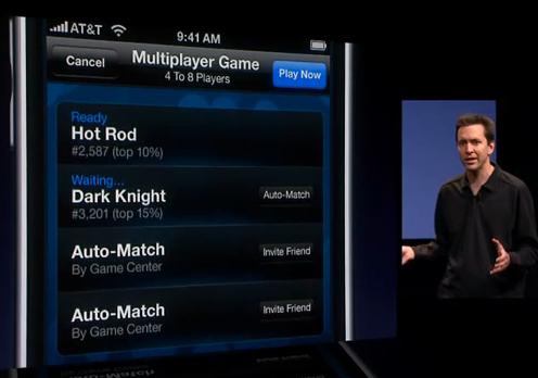 Apple, Game Center mobil sosyal ağ kuruyor