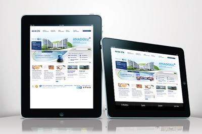 Sağlığın Merkezi iPad'de