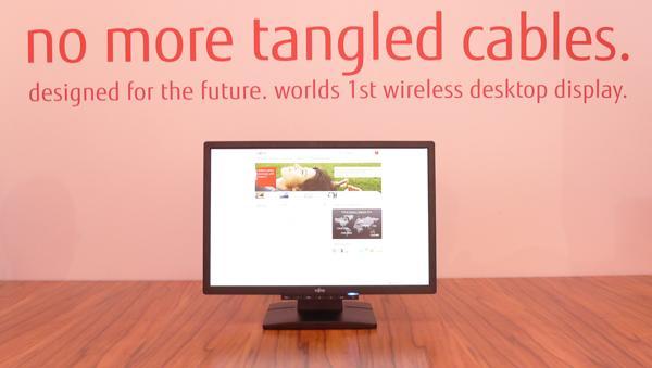 Fujitsu'dan Dünyanın İlk Kablosuz Ekranı