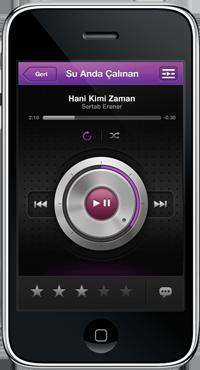 iPhone ve iPad Kullanıcıları  TTNET Mobil Müzik Uygulaması'nı Müzik Kategorisinde İlk Sıraya Taşıdı!