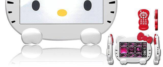Hello Kitty navigasyon cihazlarında da boy göstermeye başladı