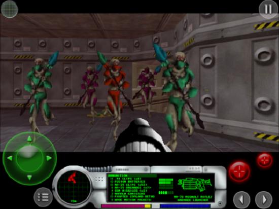Mac platformunun klasik fps oyunu Marathon iPad'e geliyor