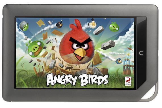 Angry Birds Magic ilk olarak Nook Color'da boy gösterecek