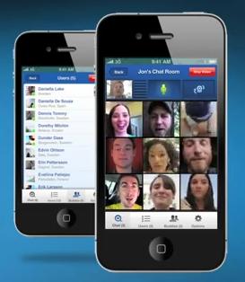 Tinychat firmasının 12 kişiye kadar Facebook videolu sohbeti destekleyen uygulaması yakında geliyor