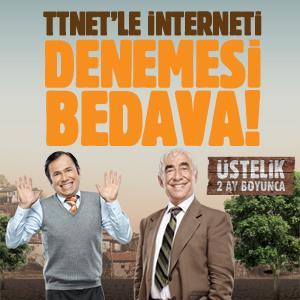 TTNET'le İnterneti Denemesi Bedava!