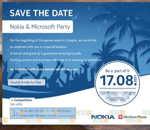 Microsoft ve Nokia telefon tanıtımlarını 17 Ağustos'ta gerçekleştirebilir