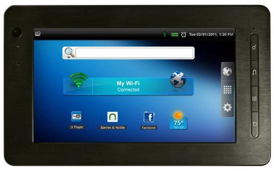 Pandigital'den bütçe dostu Android tabletler : Nova, Planet ve Star
