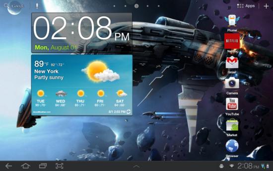 Samsung Galaxy Tab 10.1 için yeni güncelleme paketi yayında