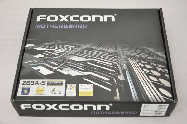 Yakın Plan: Foxconn'un Z68 çipsetli Intel anakartı Z68A-S