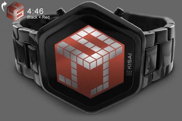 Tokyoflash'dan yeni saat modeli : Kisai 3D