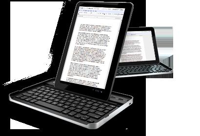 Logitech'den Galaxy Tab 10.1 için klavyeli kılıf