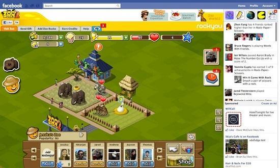 Facebook'tan Google+ Games'e cevap