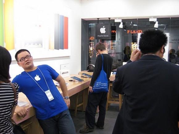 Çin 22 adet klon Apple mağazasını kapatıyor