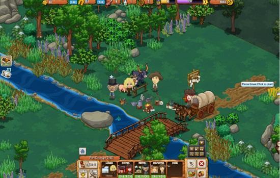 Frontierville'de sonra Zynga yeni vahşi batı oyunu Pioneer Trail'i başlatıyor