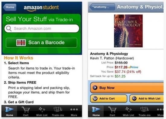 Amazon'dan üniversite öğrencilerine özel iPhone uygulaması Amazon Student
