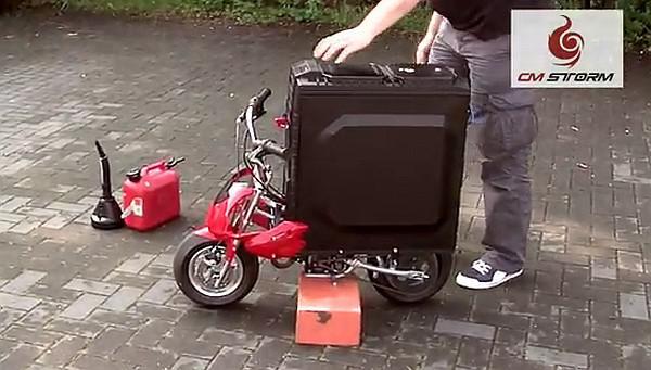Cooler Master HAF X bilgisayar kasasını mobilet ile modifiye ettiler