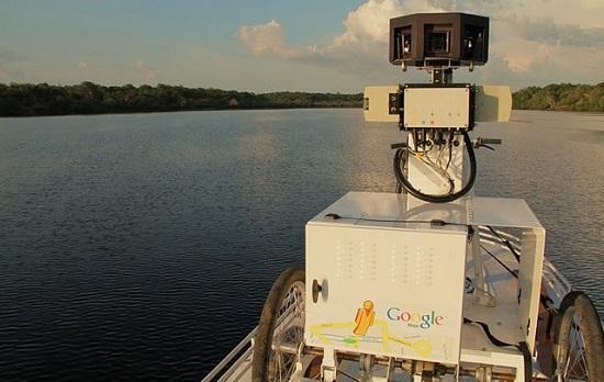 Google, Street View kameralarını Amazon ormanlarına gönderdi