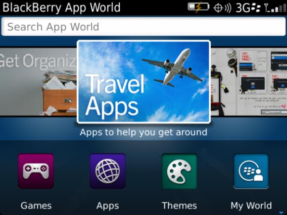 BlackBerry App World 3.0 bugün yayına başlıyor