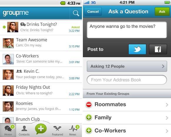Skype grup mesajlaşma servisi GroupMe'yi satın aldı