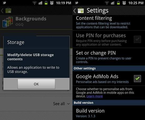 Android Market 3.1.3 sürümüne güncellendi, +1 seçeneği ve daha fazla özellik eklendi