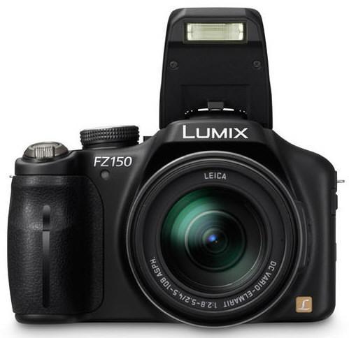 Panasonic Lumix FZ150; 24x optik yakınlaştırma ve 3D modu ile geliyor