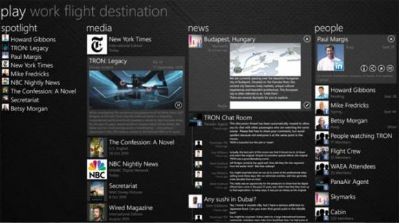 Windows 8 tablet uygulamalarının tasarımı ortaya çıkmaya başladı
