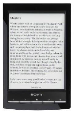 Sony'den yeni elektronik kitap okuyucusu; Reader WiFi (model PRS-T1)