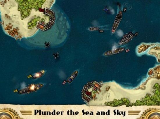 Halo'nun yapımcılarından çıkan ilk iOS oyunu Crimson : Steam Pirates olacak