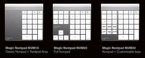 Mobee'den Magic TrackPad'iniz için Magic Numpad
