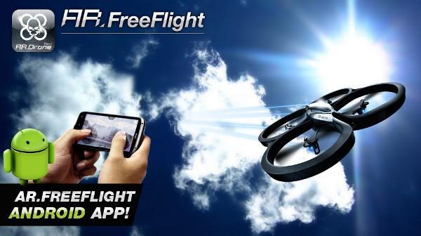 AR.Drone için iOS'dan sonra Android için de bir uygulama yayınlanıyor