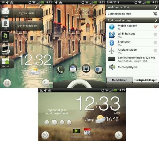 Sense 3.5 arayüzü gayrı resmi olarak HTC Desire HD modeline yüklendi