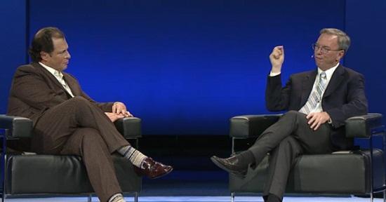 Eric Schmidt: Google Apps 40 milyon kullanıcıya sahip, her gün 5 bin şirket ekleniyor