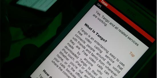 Tango videolu görüşme uygulaması rotasını Windows Phone platformuna çevirdi