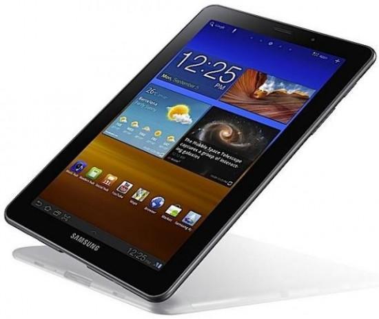 Apple'ın Almanya'da aldırdığı tedbiren ithalat yasağı kararı Galaxy Tab 7.7'nin fuardan çekilmesine neden oldu