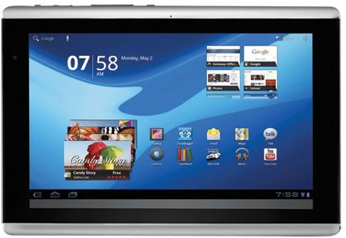 Gateway'den yeni TP serisi A60 tablet Kanada'da boy gösterdi