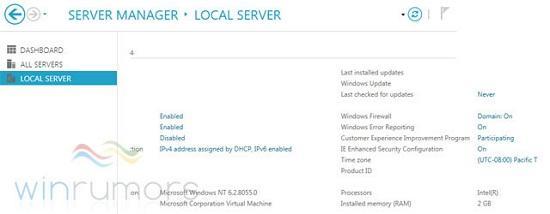 Windows Server 8 yönetim konsolu da Metro tarzı bir tasarım sunacak
