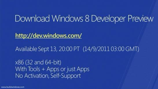 Steve Ballmer : İlk 12 saatte 500.000 Windows 8 indirildi
