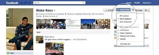 Facebook kullanıcılara yönelik abonelik sistemini devreye soktu