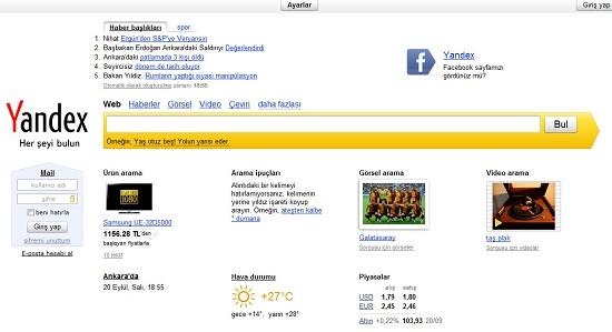 Rusya'nın bir numaralı arama motoru Yandex Türkiye'de faaliyetlerine resmen başladı