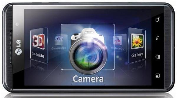 LG Optimus 3D modeli Vodafone ile Türkiye pazarına sunuldu