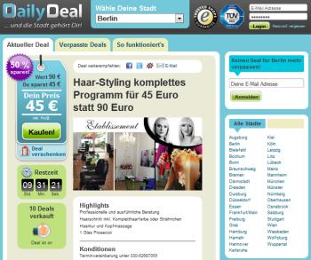 Google, Alman kapalı devre indirim sistemi DailyDeal'i satın aldı