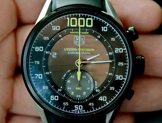 Dünyanın en hızlı kronograf saati Tag Heuer Mikrotimer