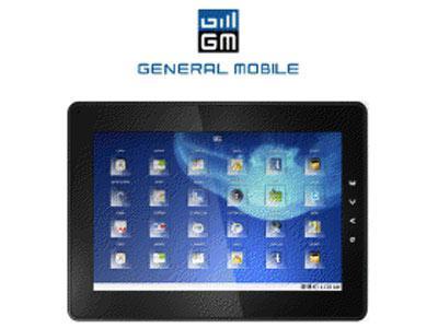 İlk yerli üretim tablet General Mobile'dan geldi