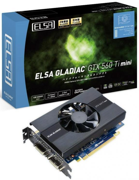 ELSA, GeForce GTX 560 Ti mini modelini duyurdu