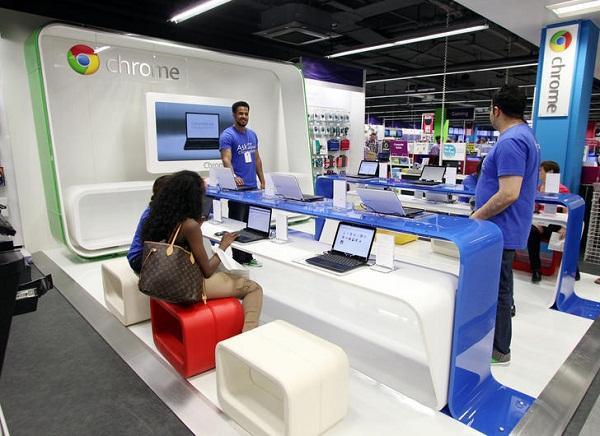 Google İngiltere'de Chrome standları açıyor