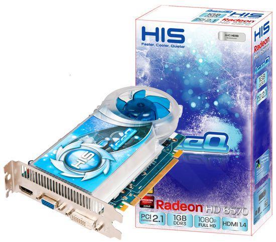 HIS özel tasarımlı Radeon HD 6570 IceQ modelini tanıttı